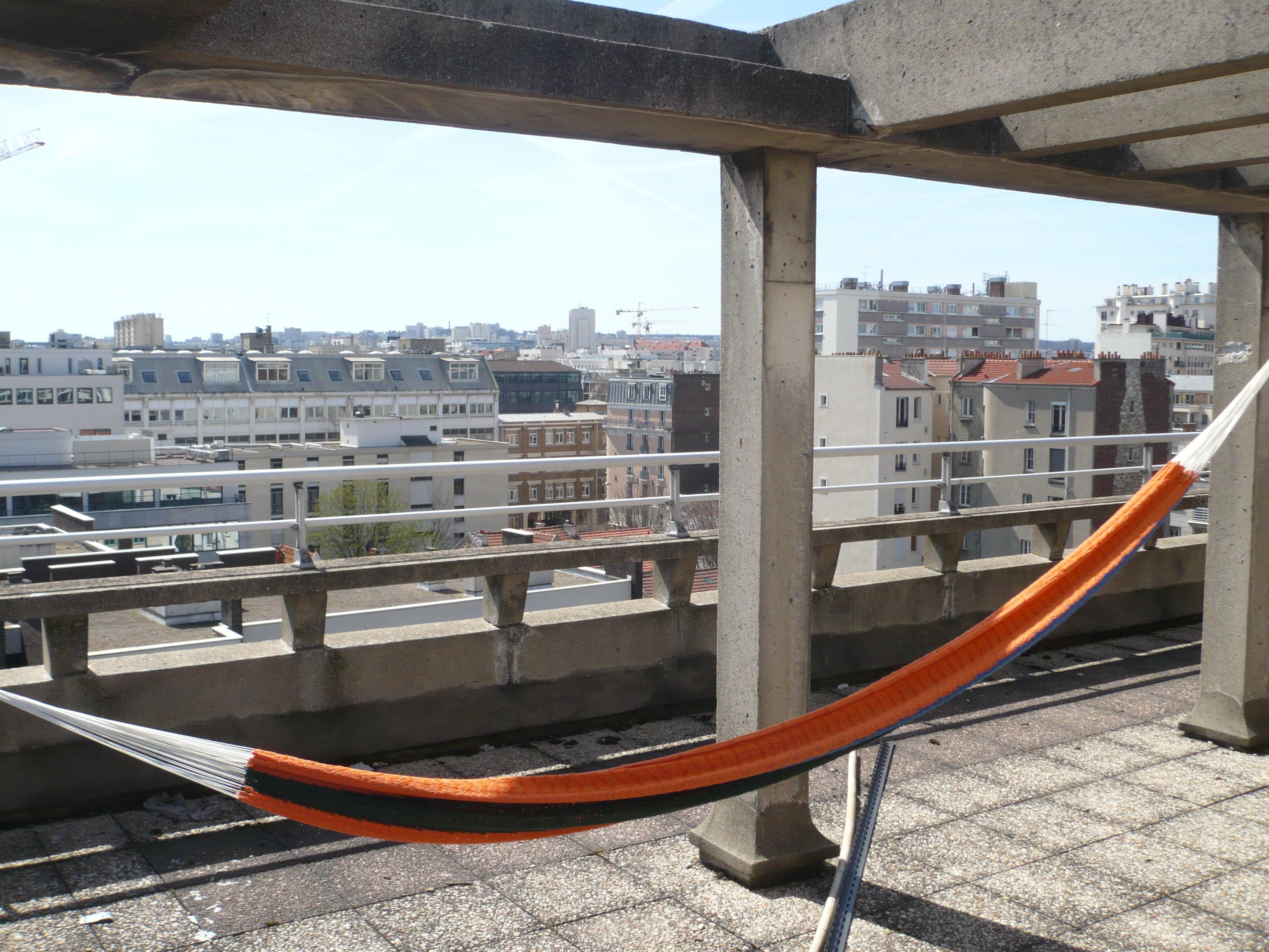 Sur les toits de Montrouge.
