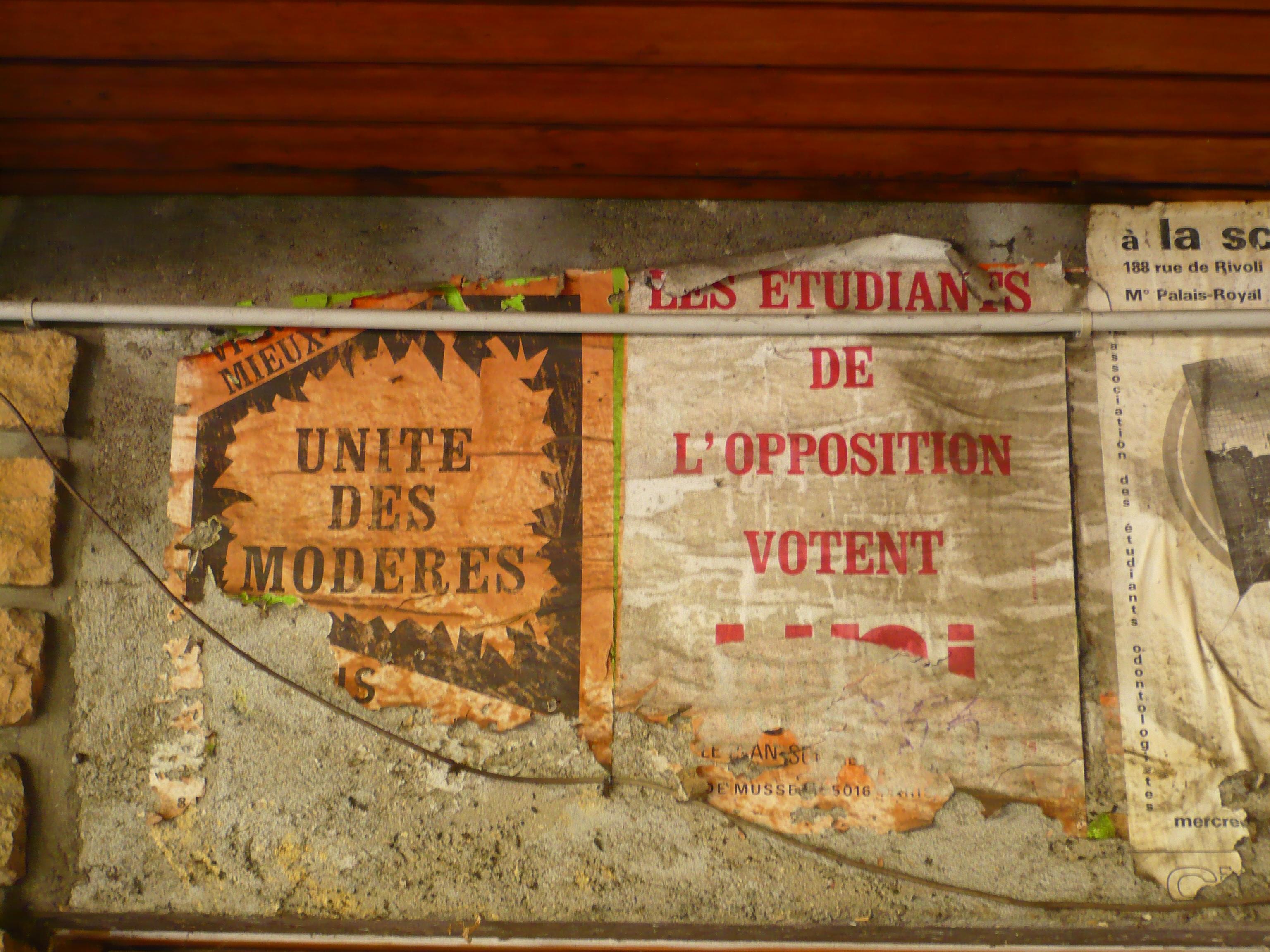 Unité des modérés