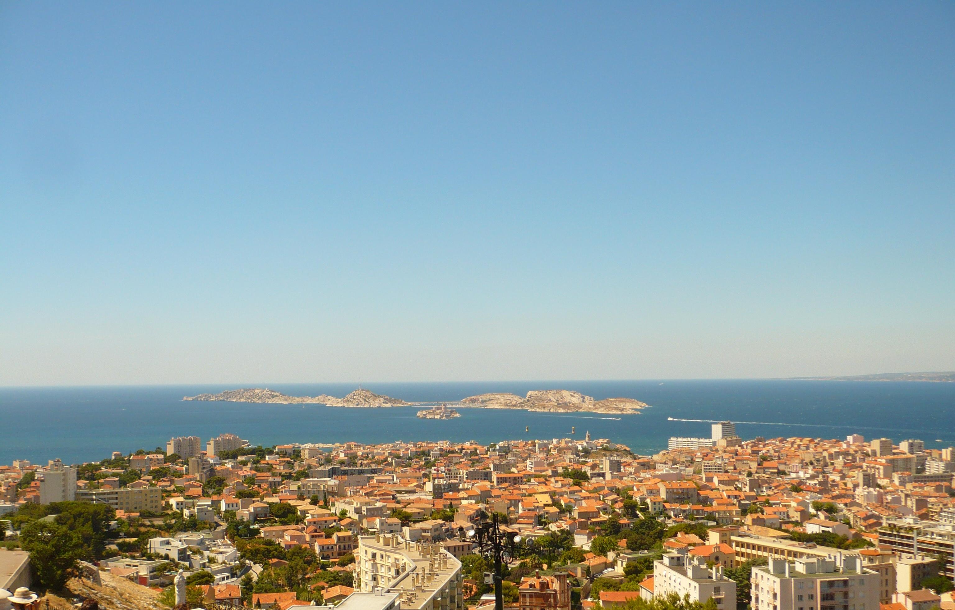 Marseille vu d'en haut