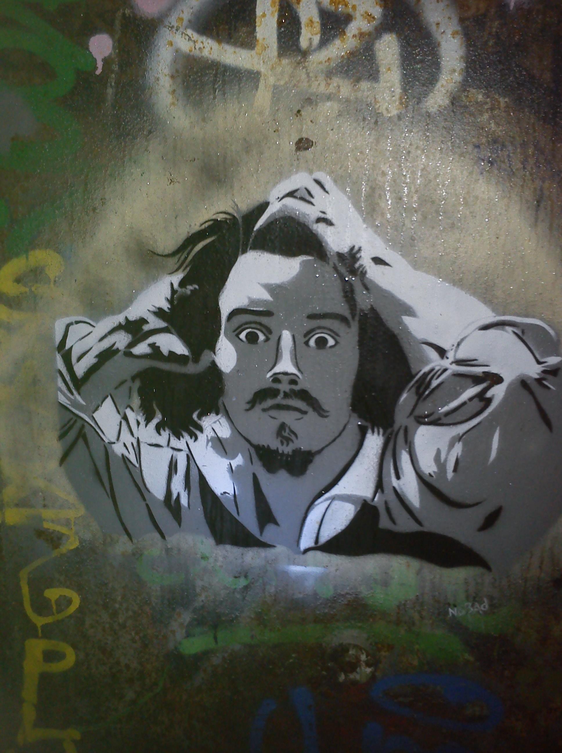La folie, Courbet.