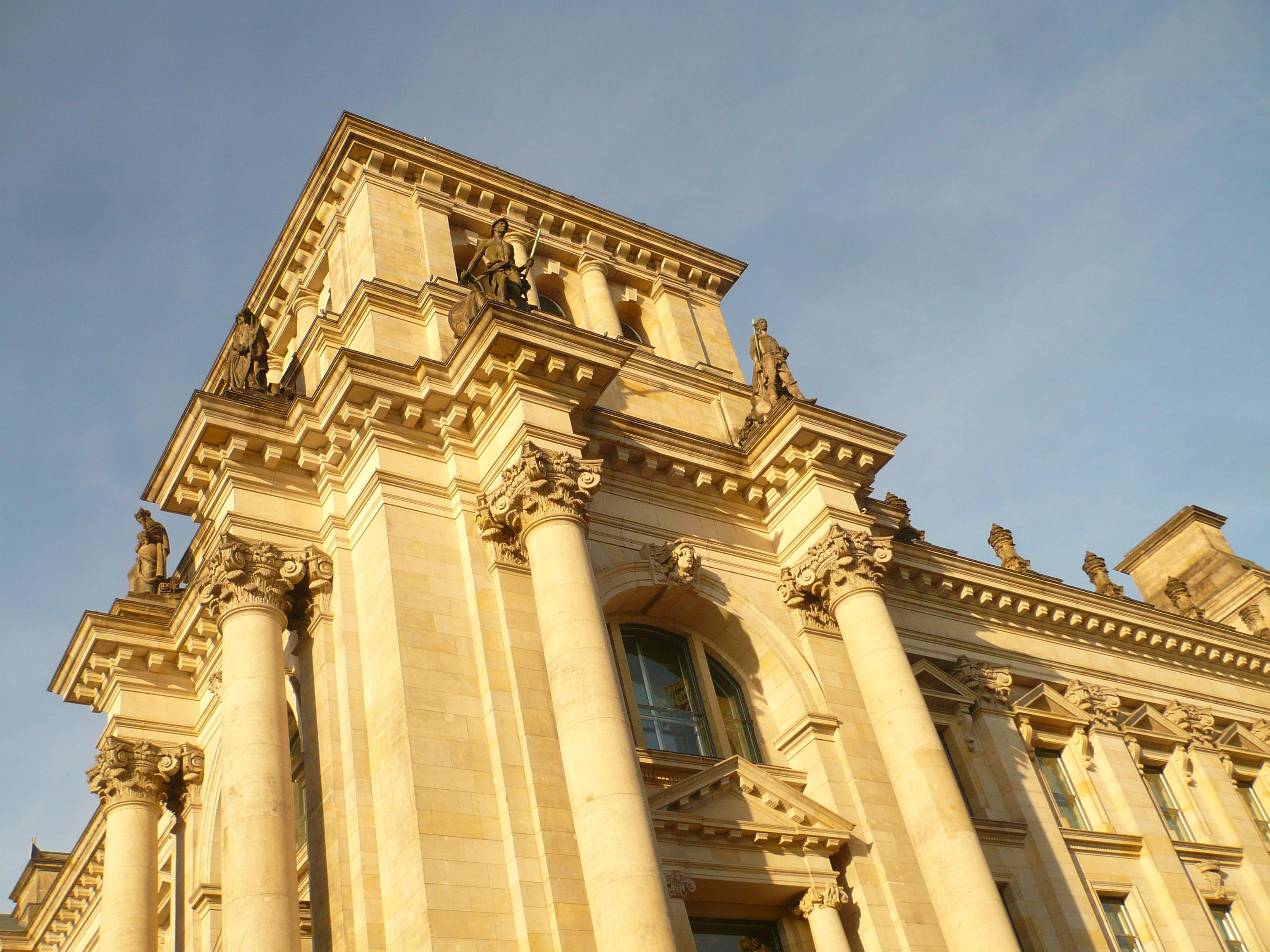 Bundestag, détail