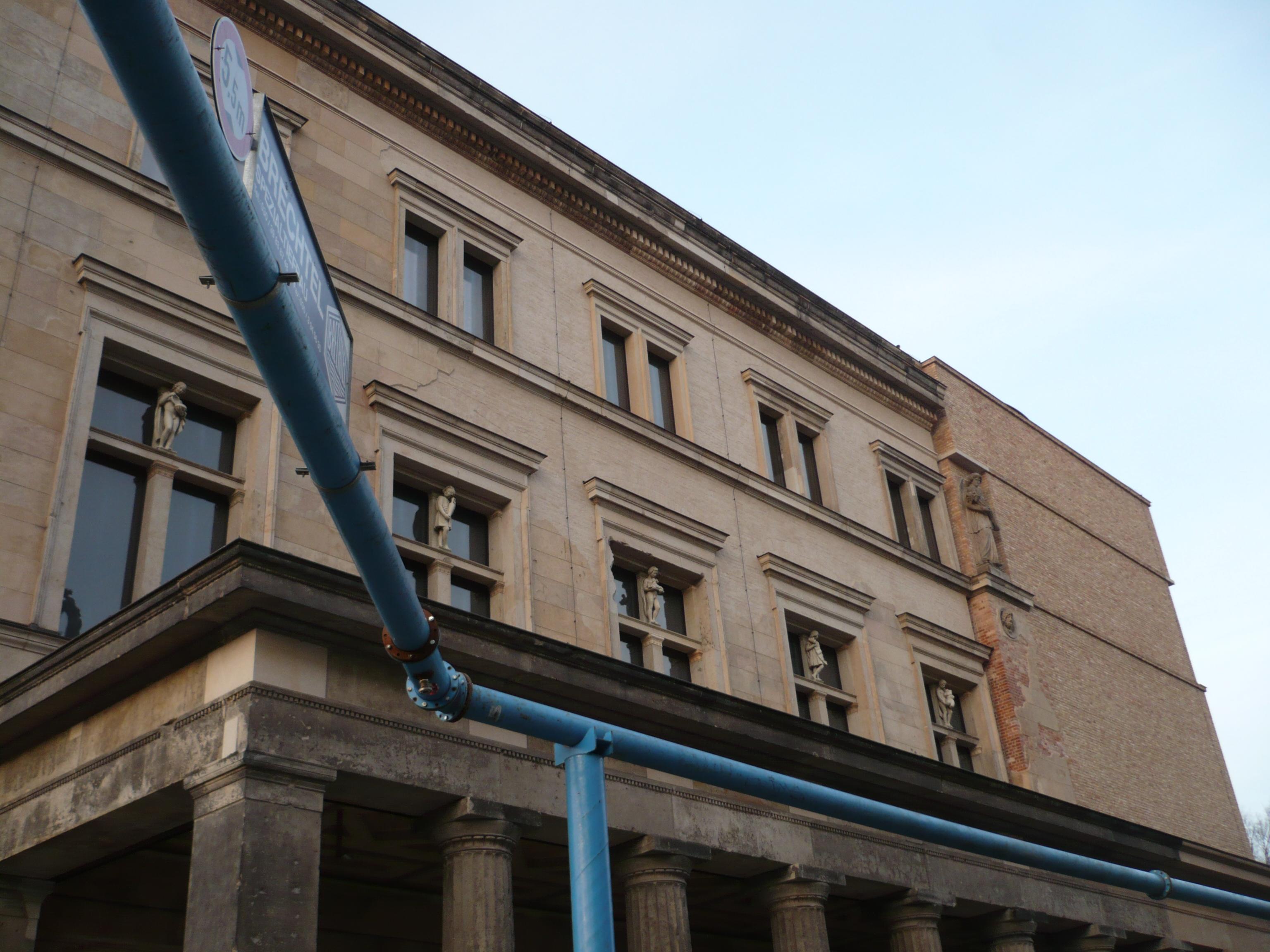 Musée et tuyaux