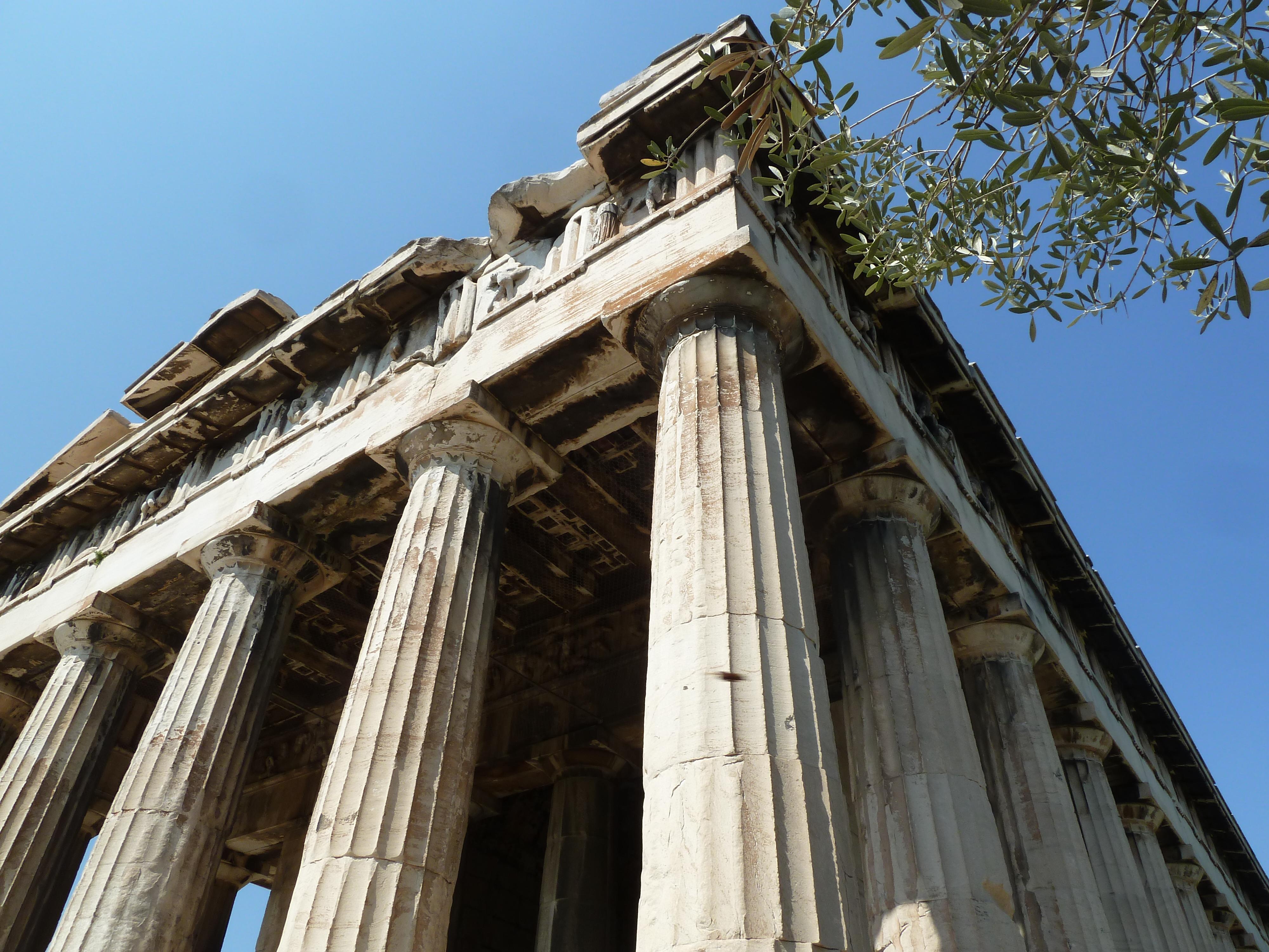 Temple d'Héphaïstos, Agora.