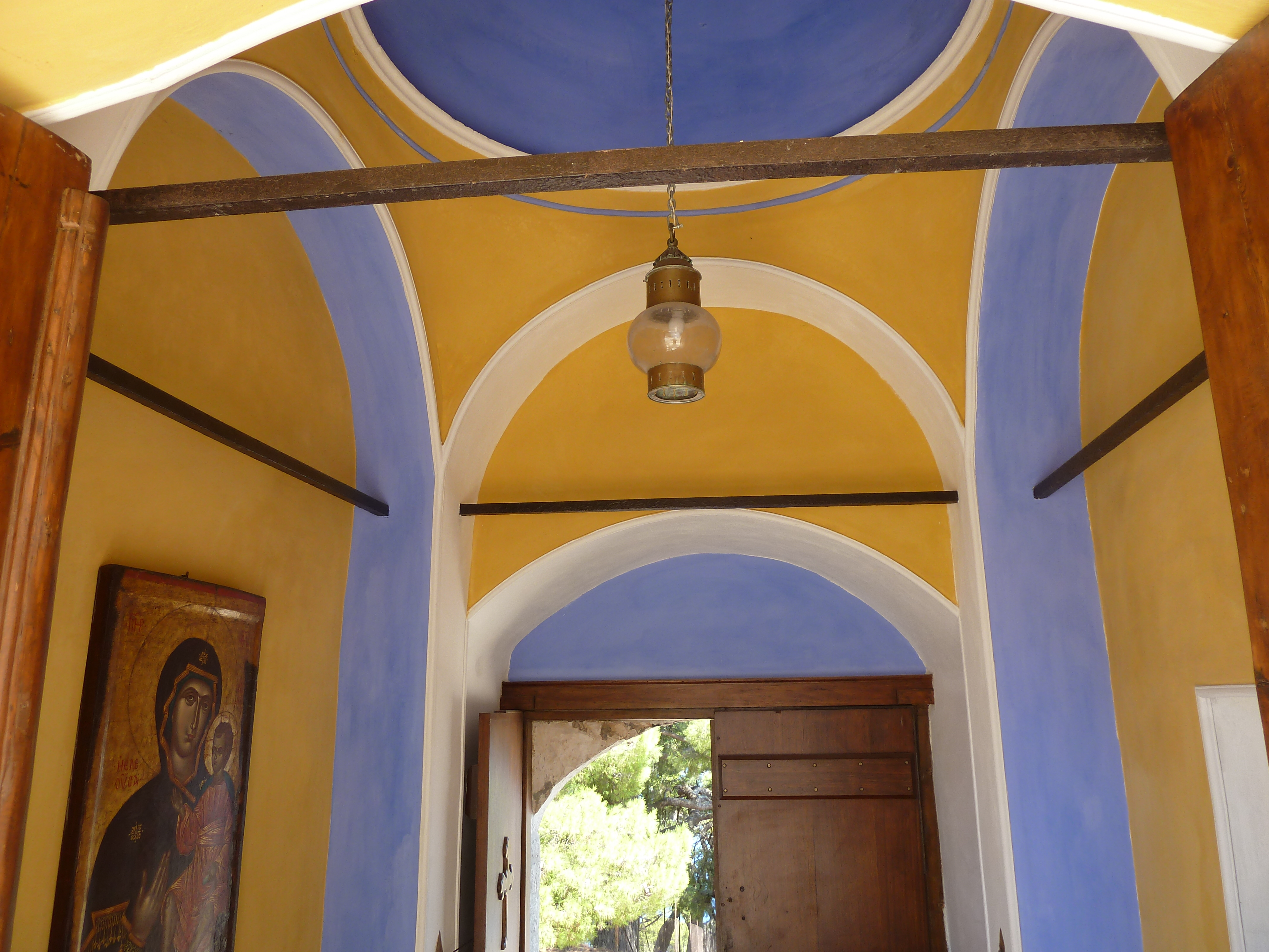 Vestibule du monastère