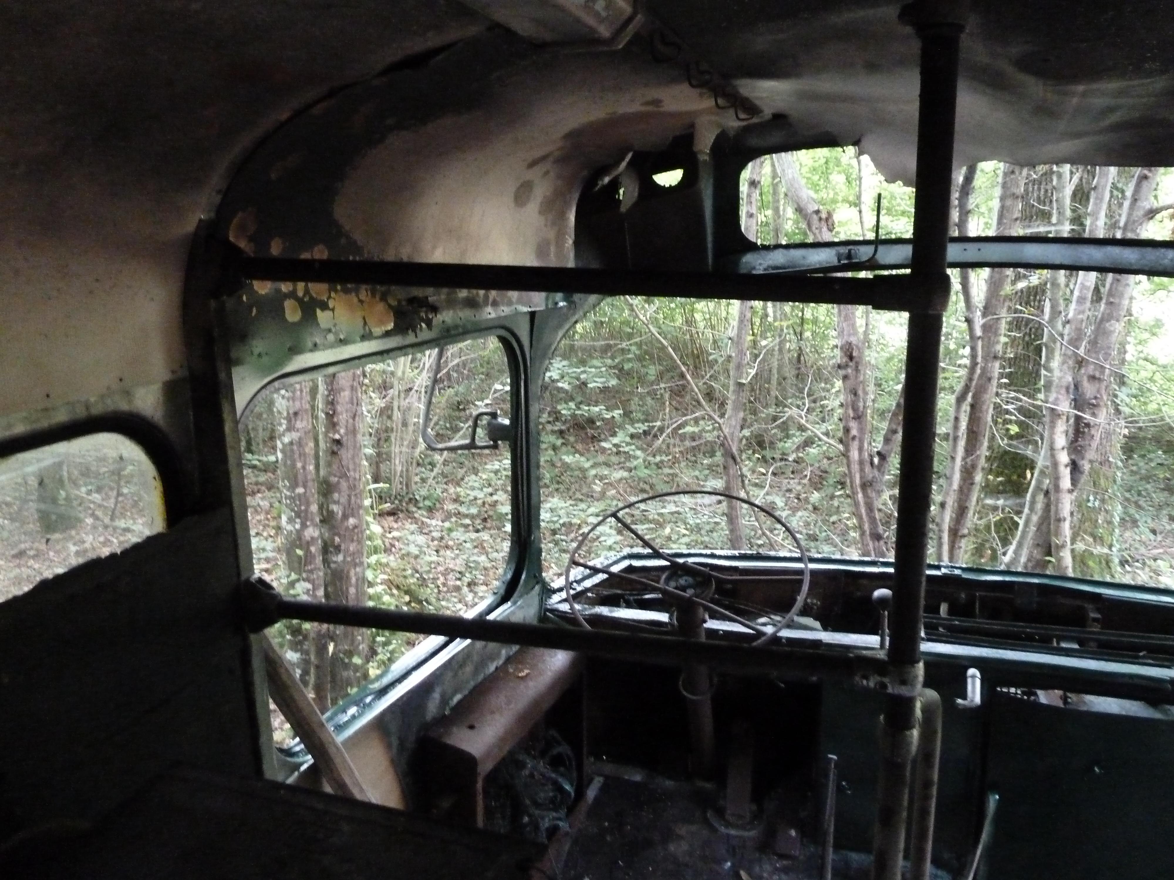 Bus abandonné