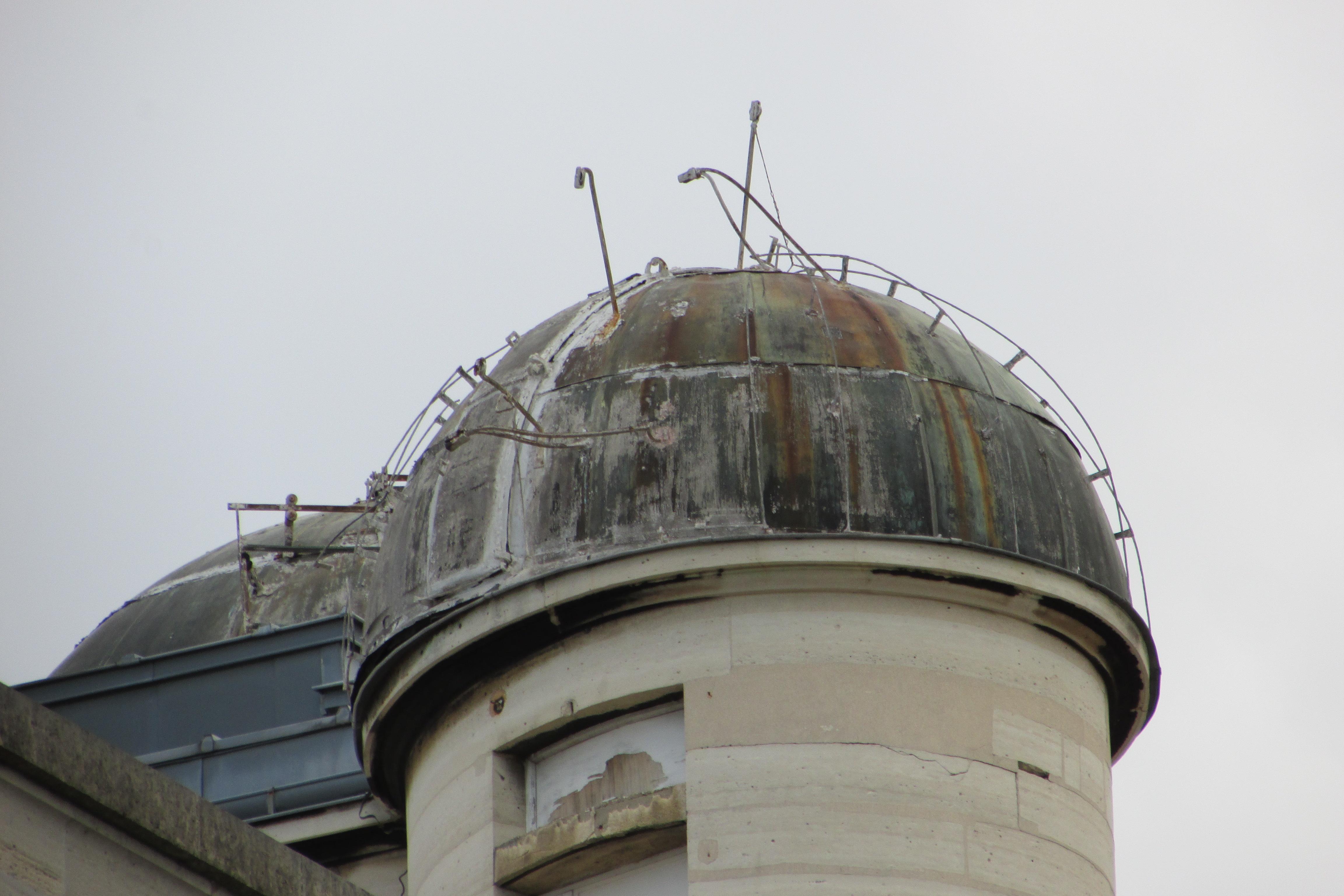 Détail de l'Observatoire de Parts