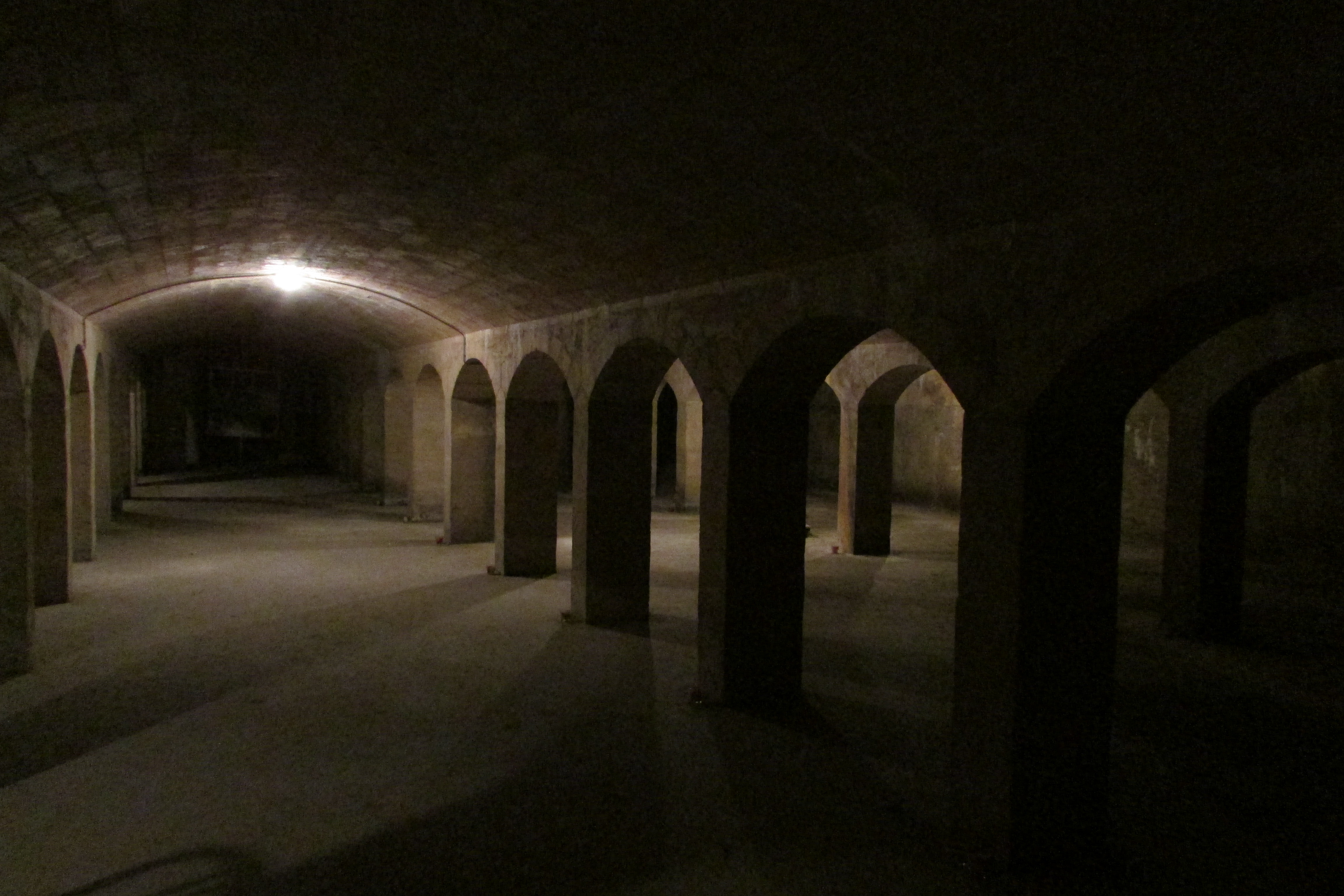 Sous-sols de la maison du Fontainier