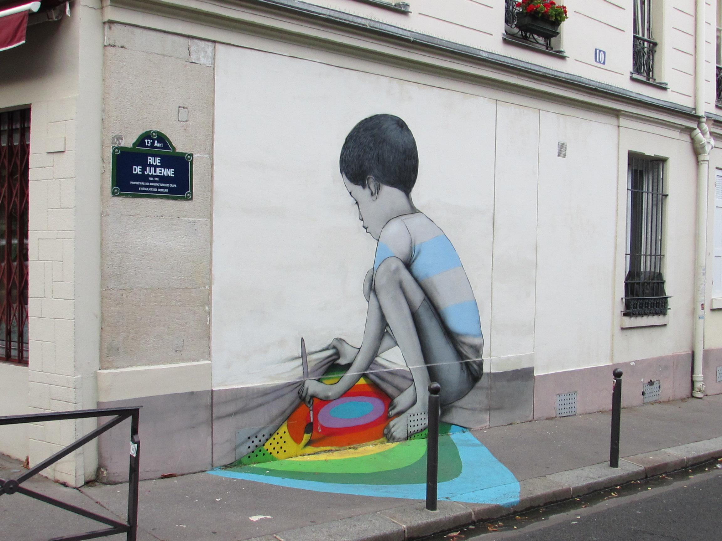 Street art, rue Julienne