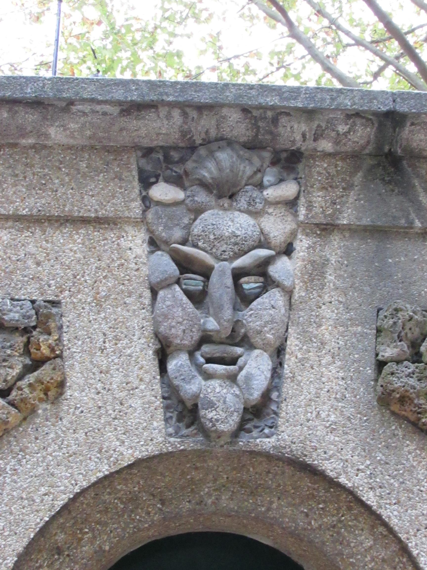 Détail du square René Le Gall