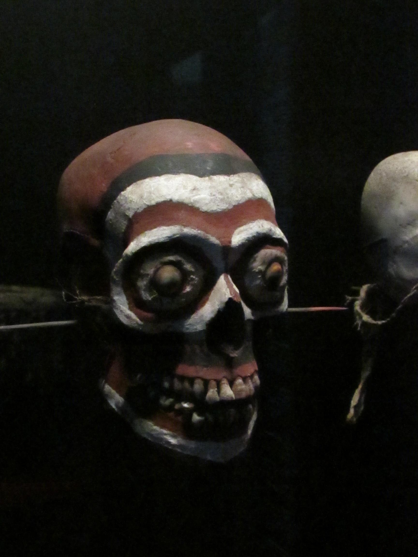 Crâne, Papouasie