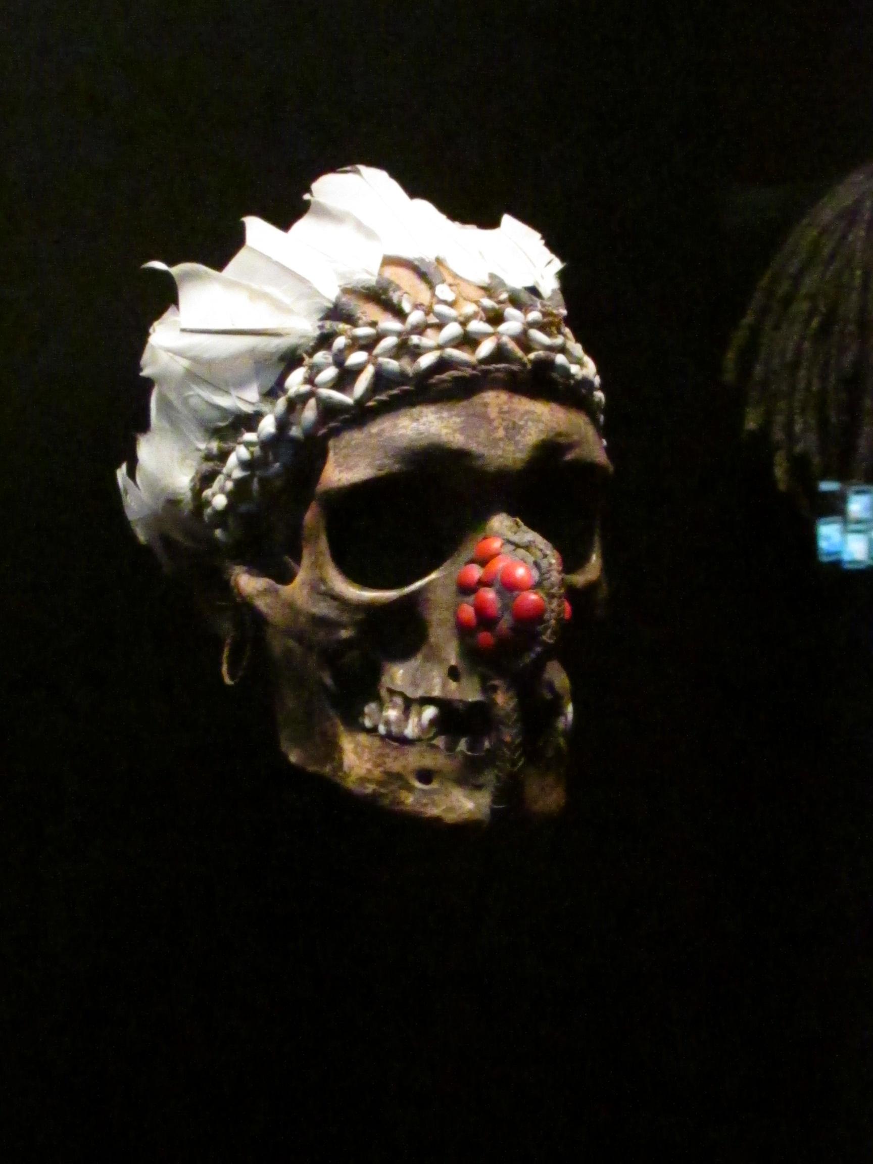 Crâne, Papouasie.
