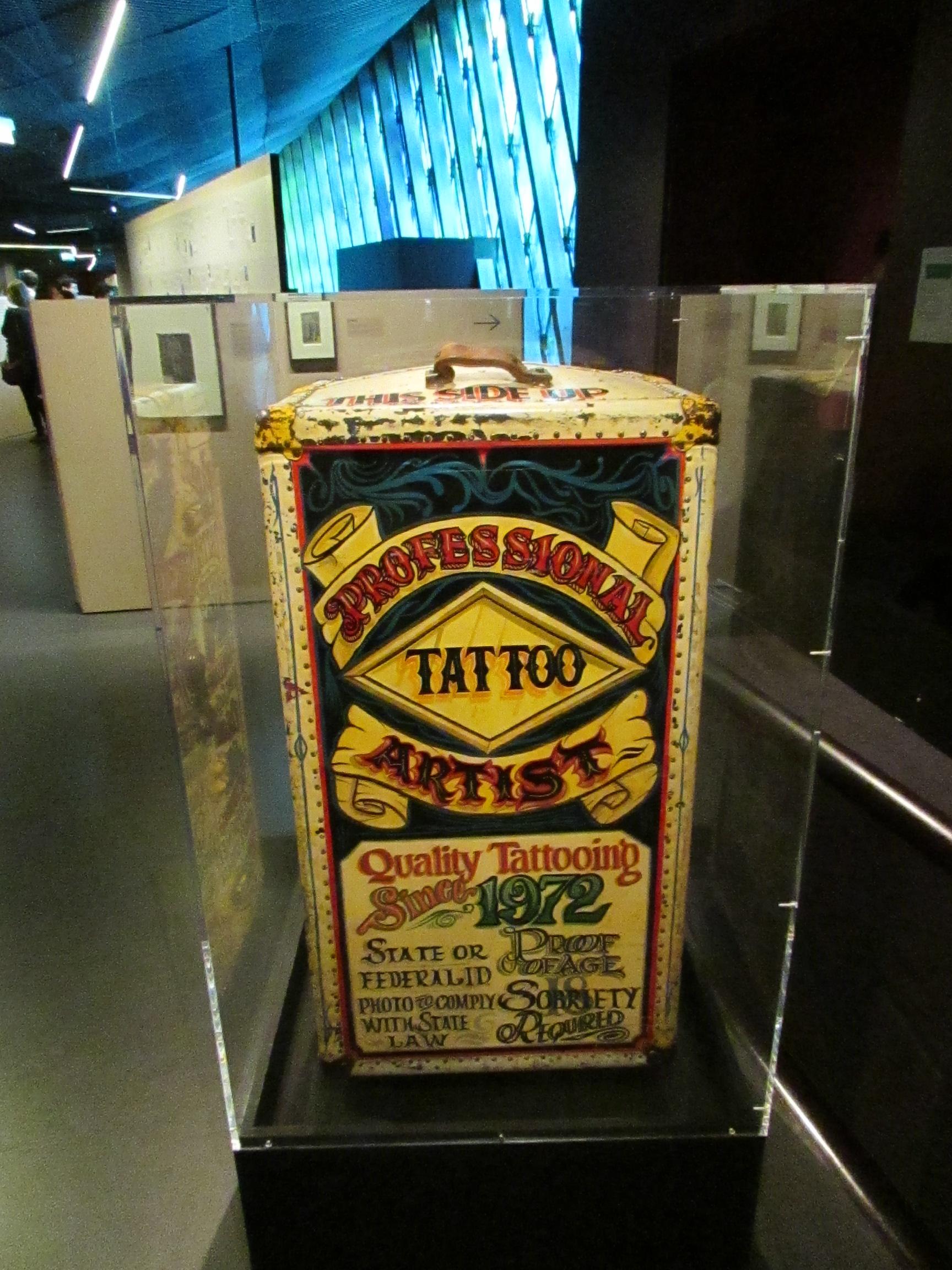 Boîte de tatoueur