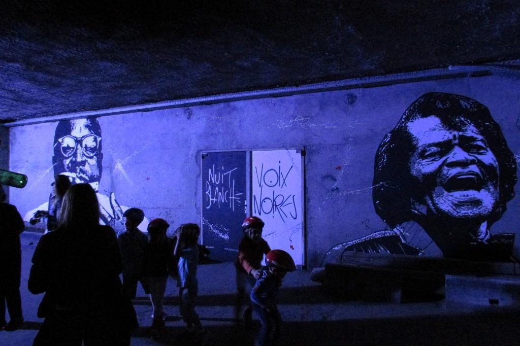 Nuit Blanche, Voix Noires, de Jef Aérosol
