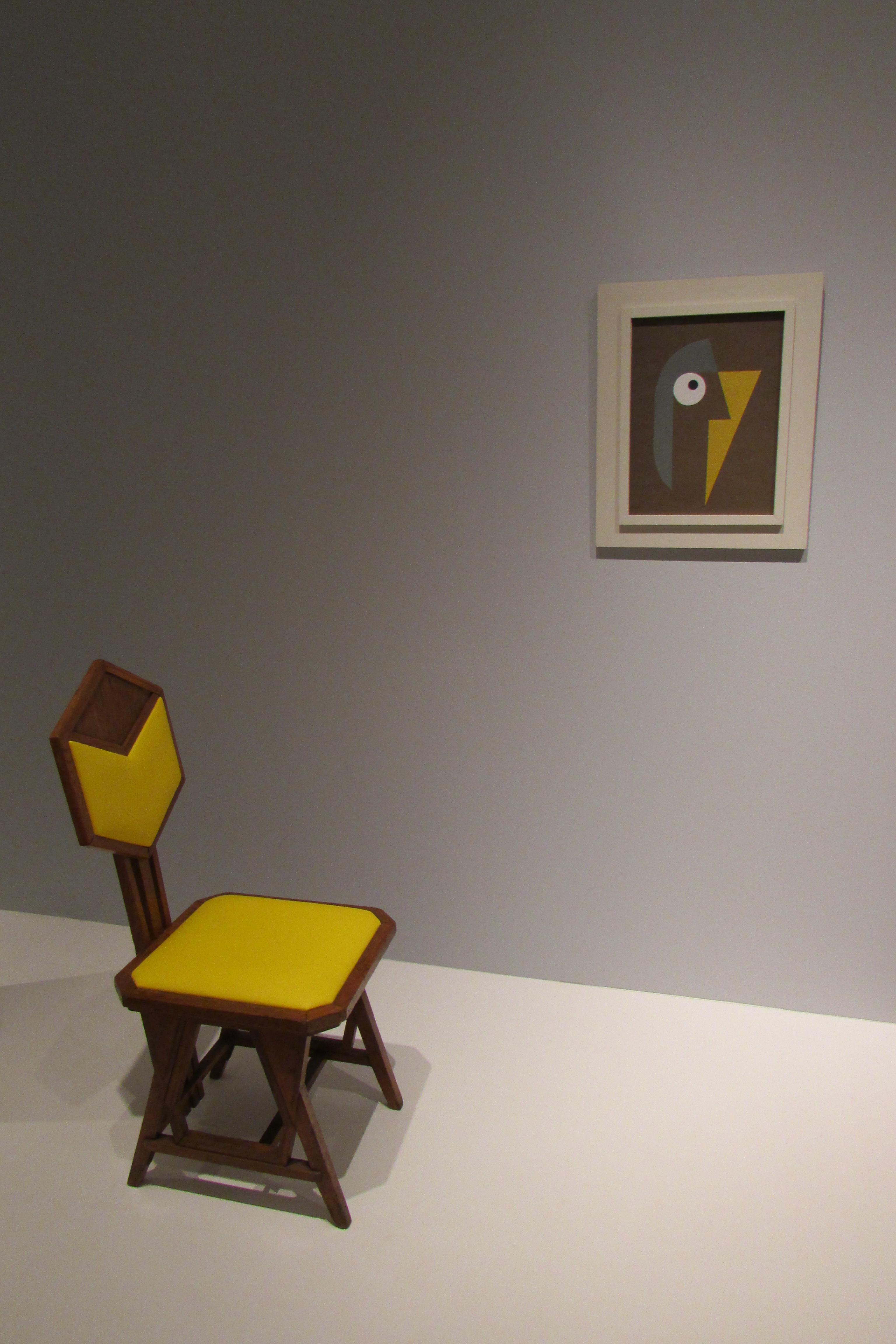 Chaise et peinture