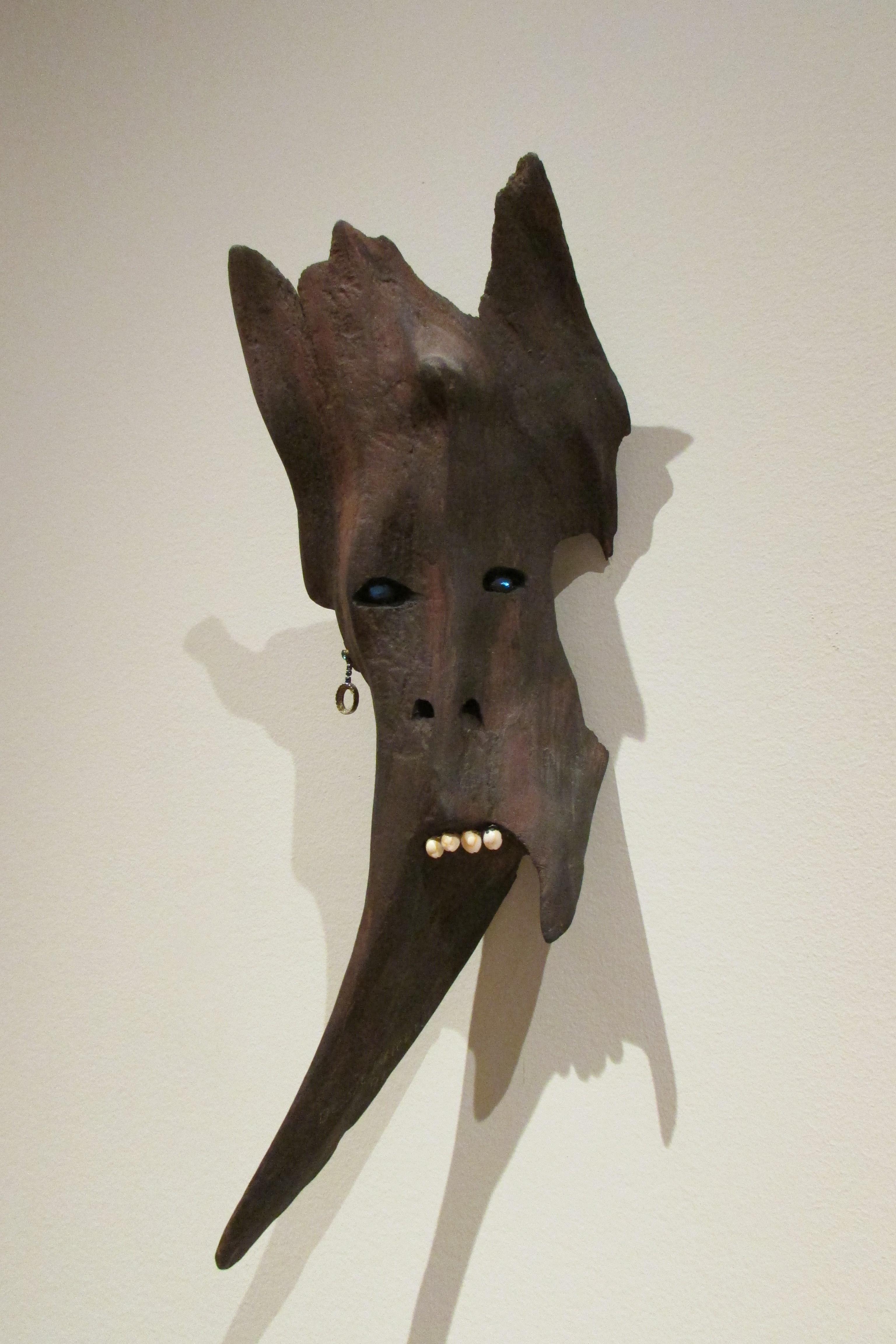 Sculpture effrayante