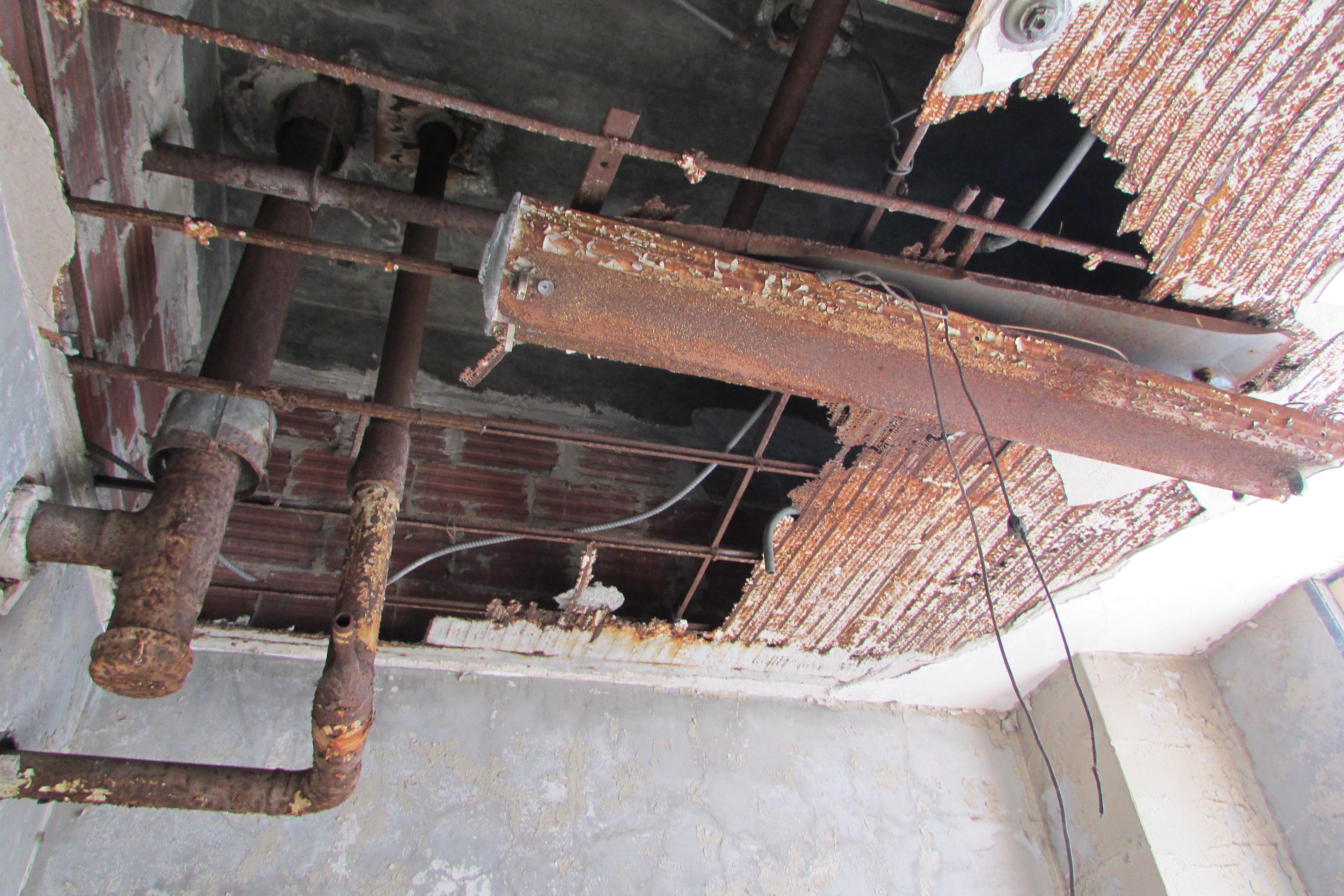 L'envers du plafond