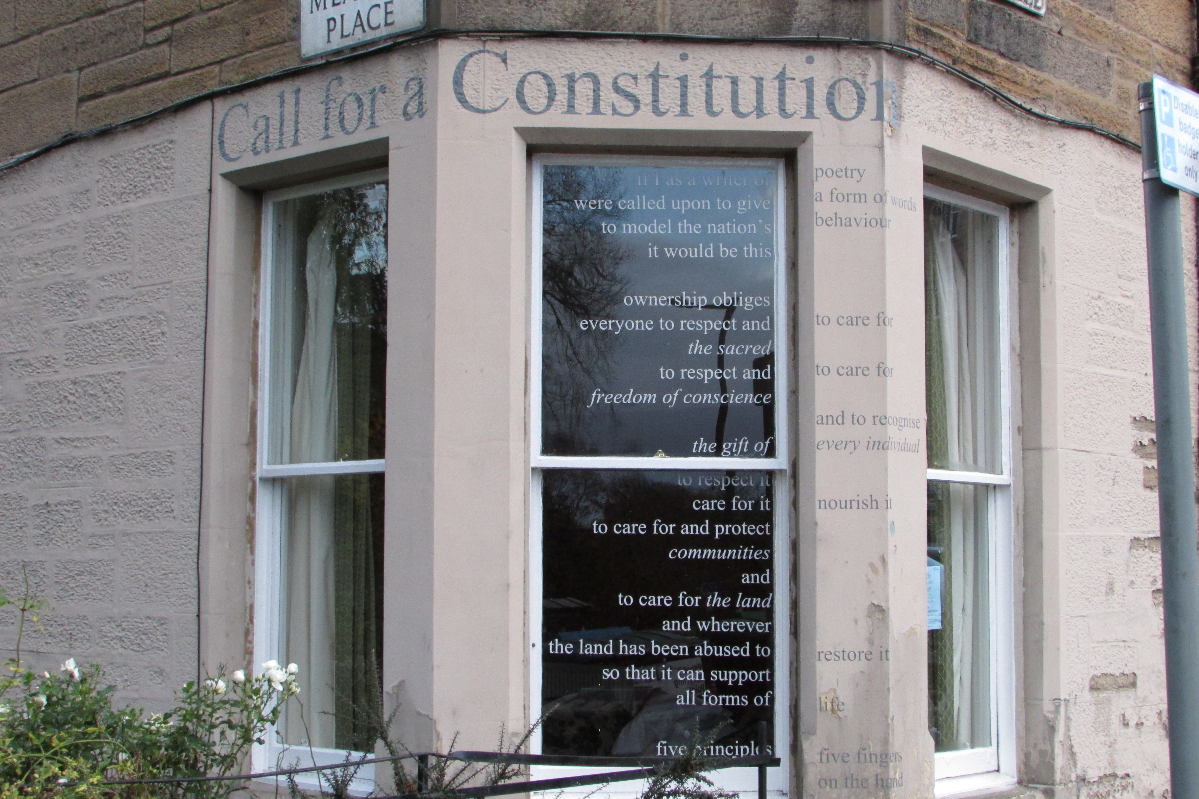 Call for a Constitution