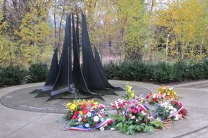 Monument à une grande guerre interplanétaire ?