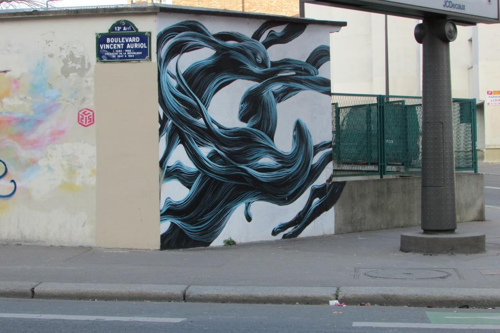 Lapins sur Vincent Auriol