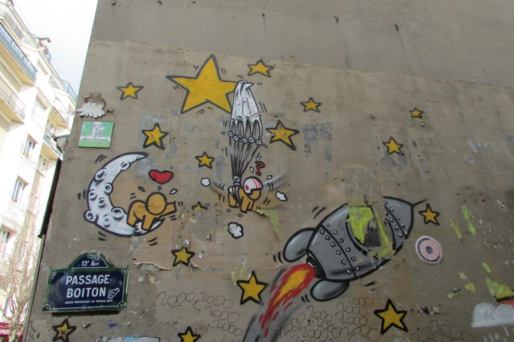 Étoiles et Fusée, par Jace