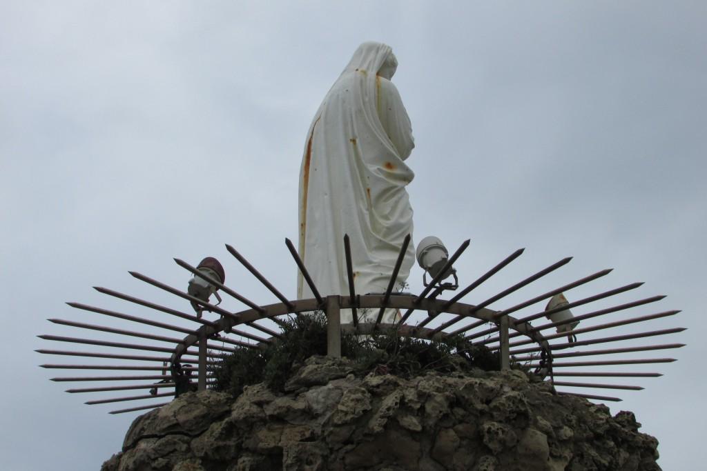 La Vierge, détournée.