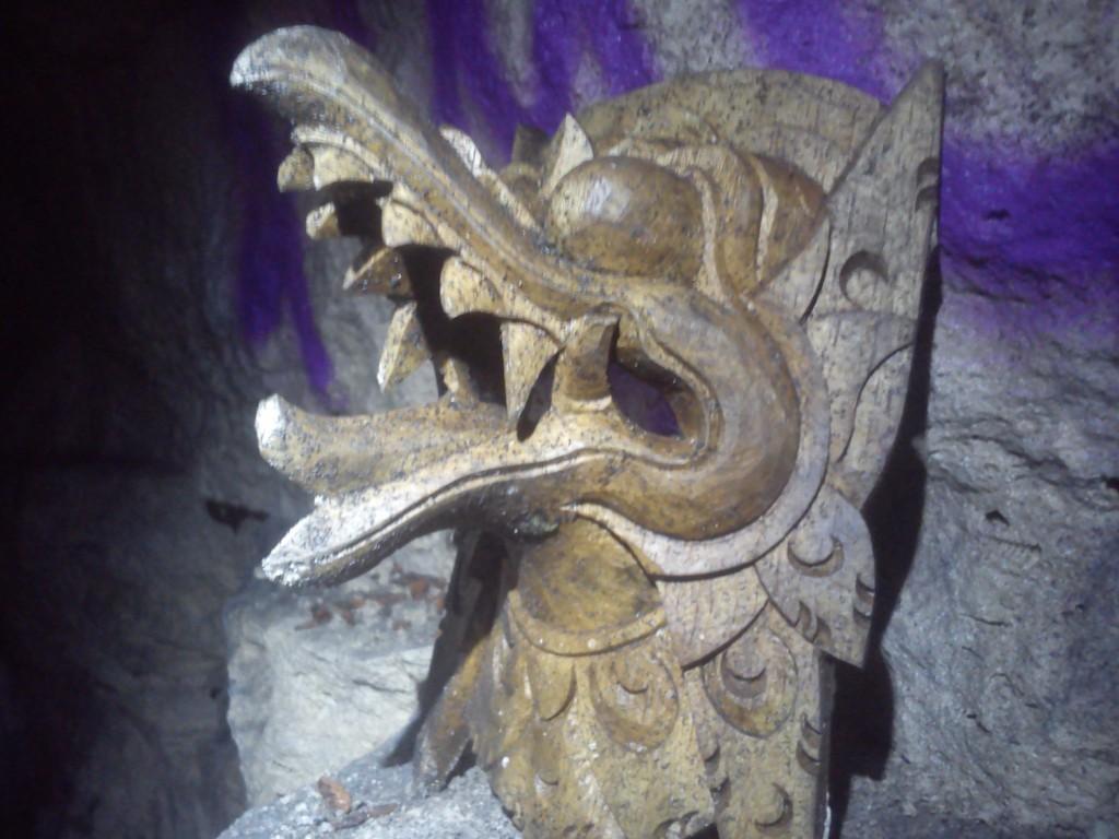 Griffon de bois