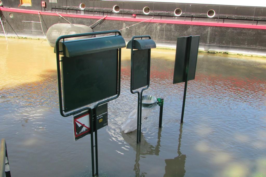 La Seine est un peu en crue, mais rien de bien méchant pour le moment