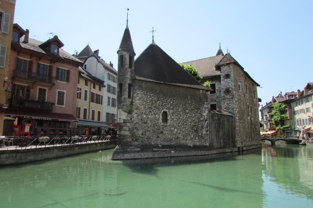 Vue typique d'Annecy