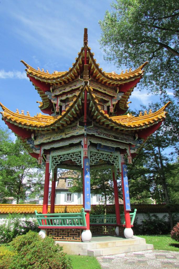Pavillon du jardin chinois