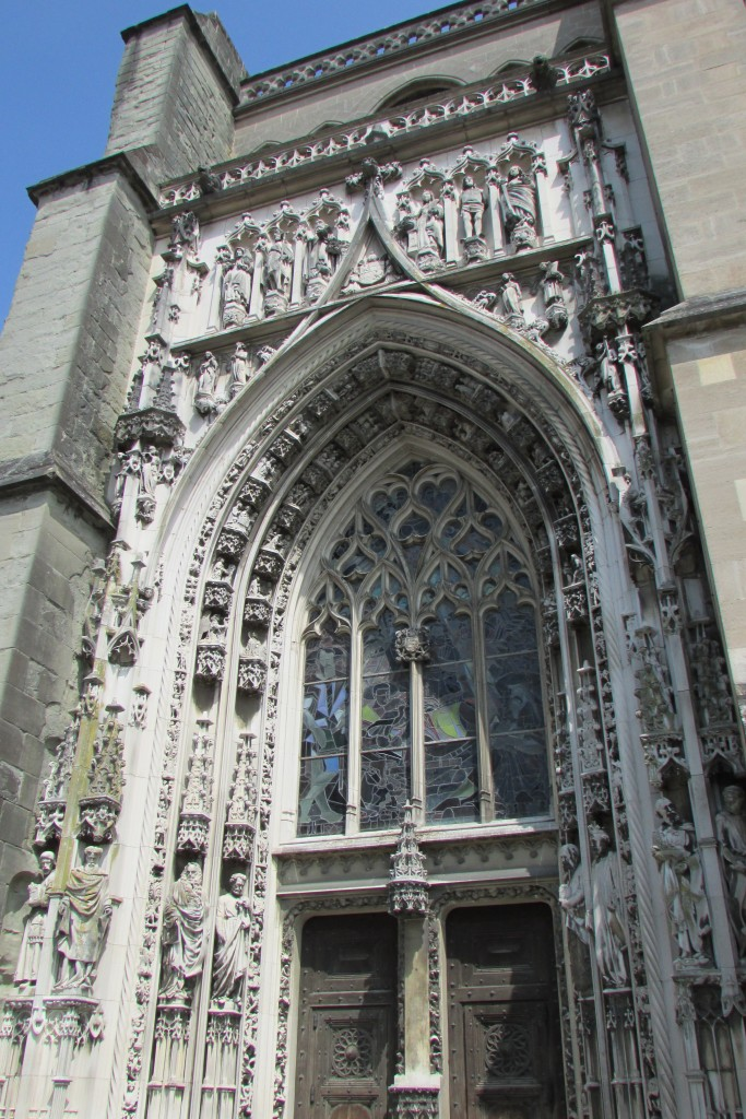 Cathédrale de Lausanne, porte