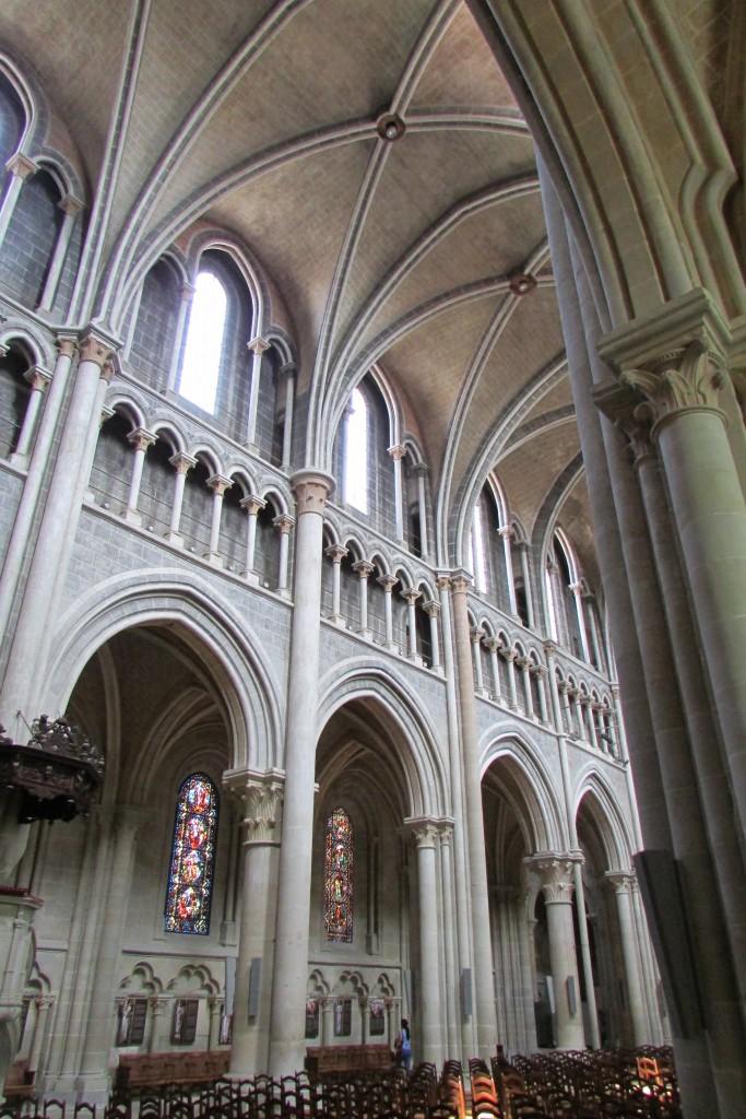 Cathédrale de Lausanne, intérieur