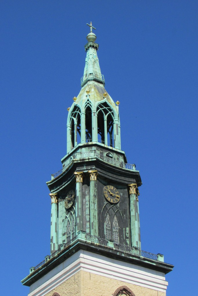Marienkirche, beffroi