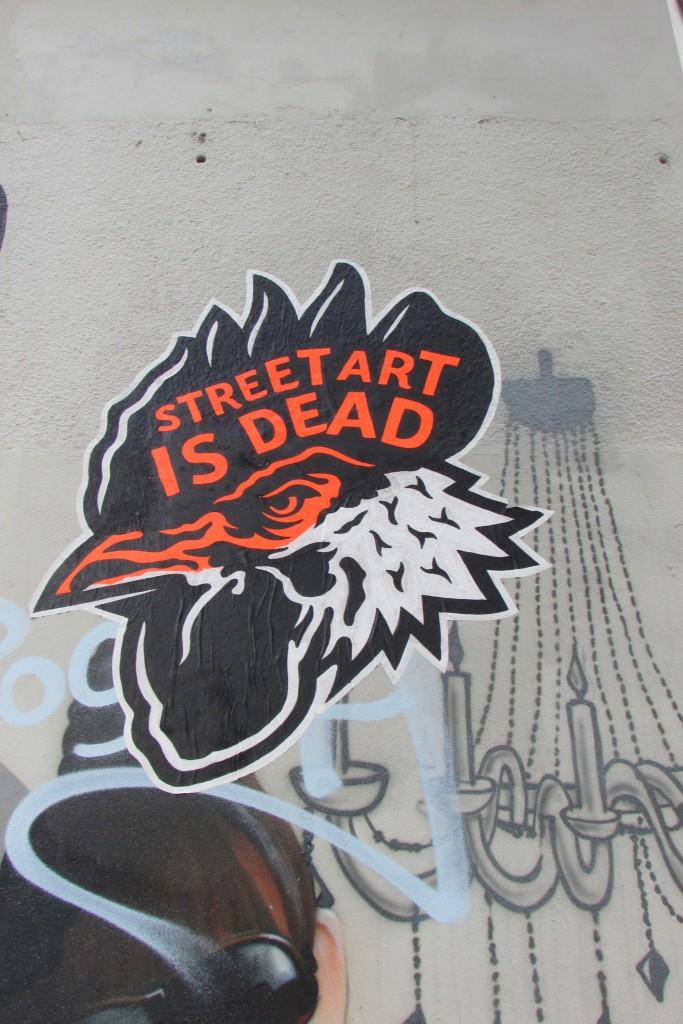 Street art is dead