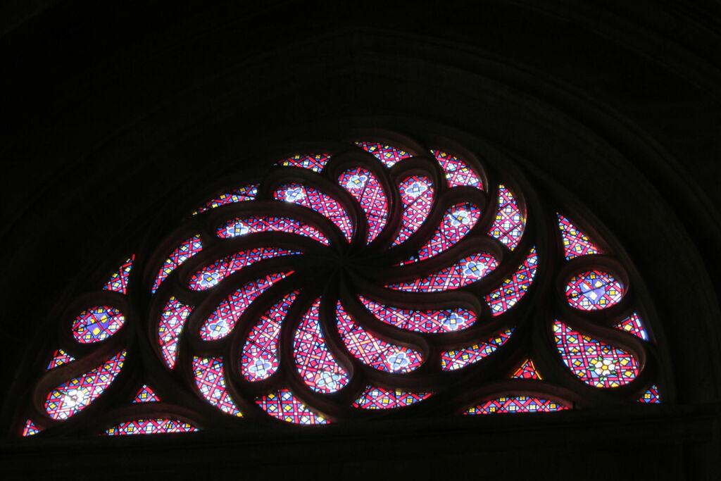 Saint-Jean, rosace.