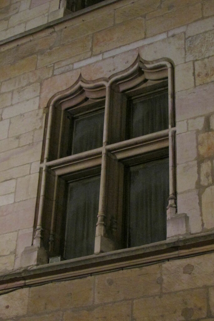 Fenêtres en accolades
