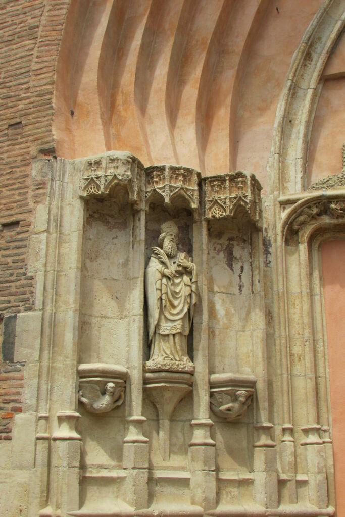 Détail de l'église Saint-Nicolas