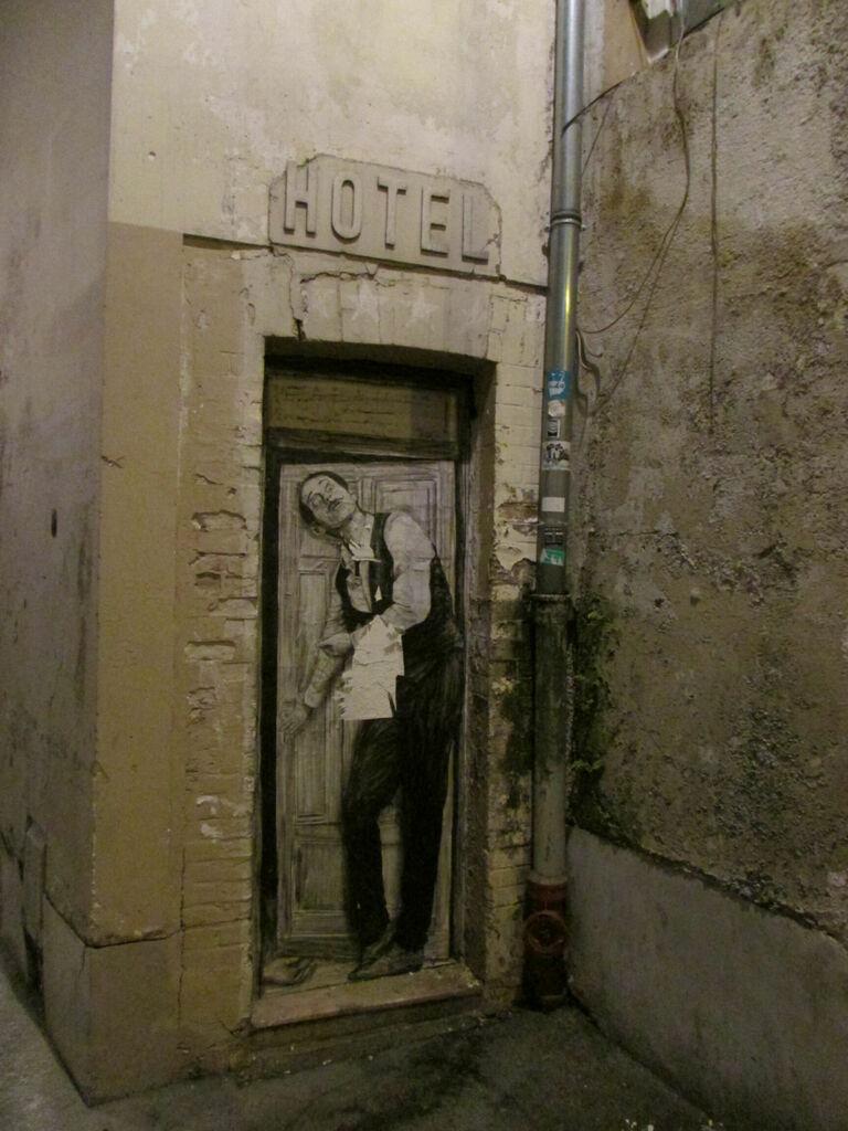 Hôtel, par Levalet