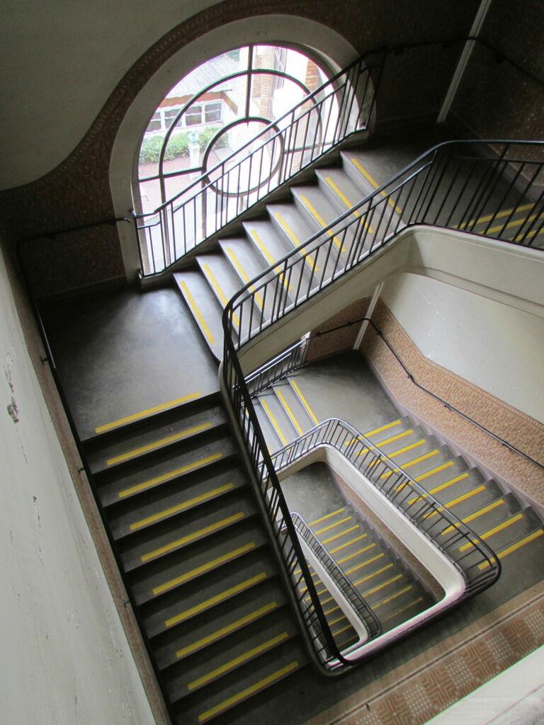 Escalier, différent angles