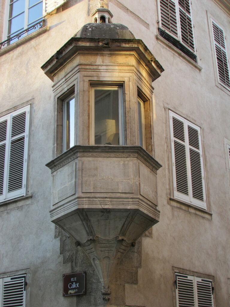 Angle d'une façade
