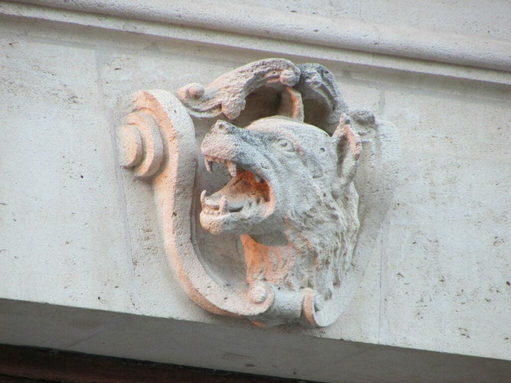 Détail de la façade de l'ENGREF