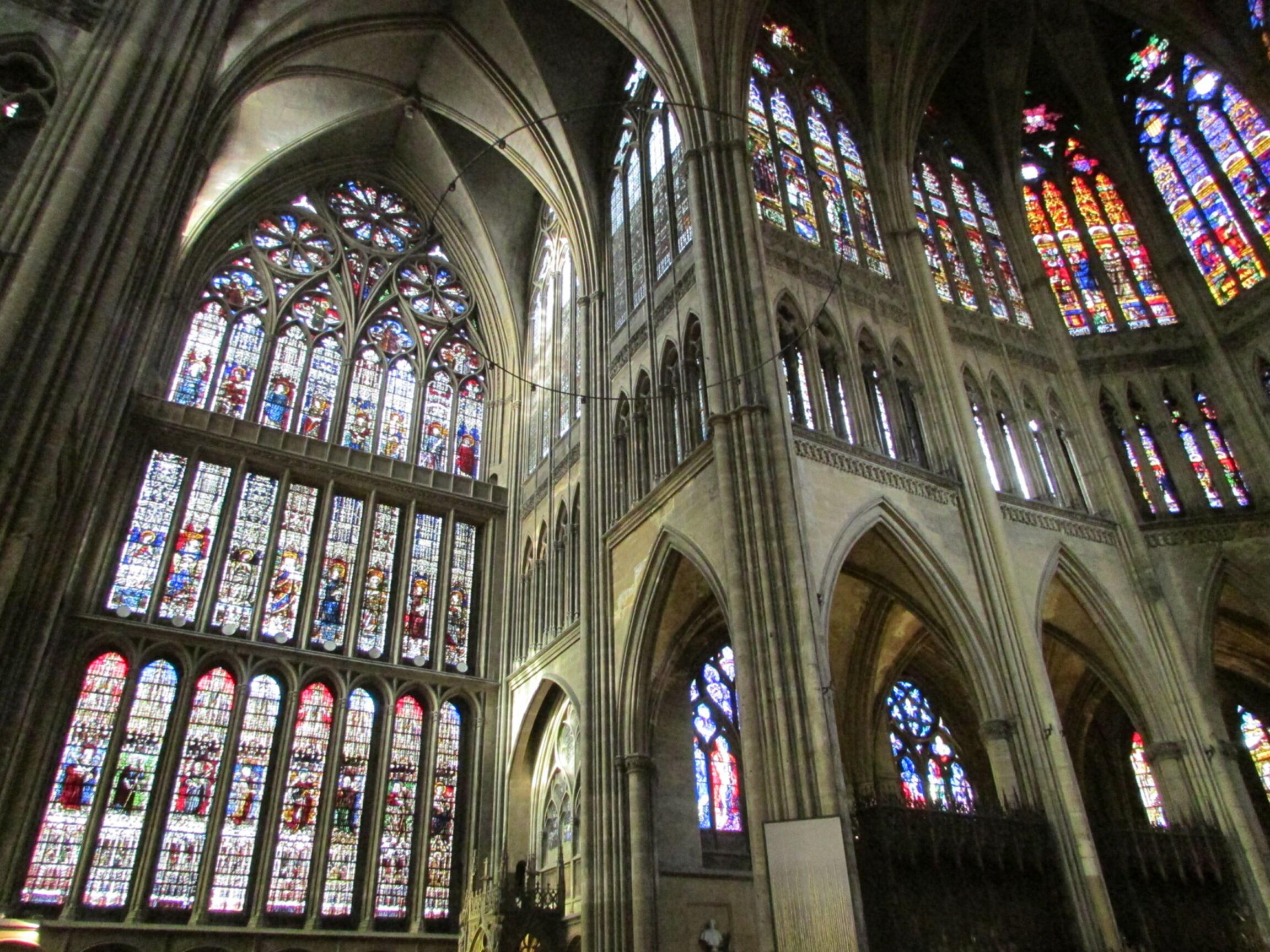 Visite de Metz : cathédrale Saint-Étienne | and the temple of doom
