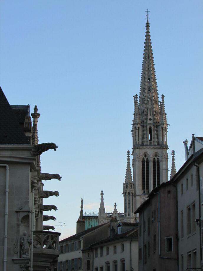 Palais des ducs de Lorraine et Saint-Epvre