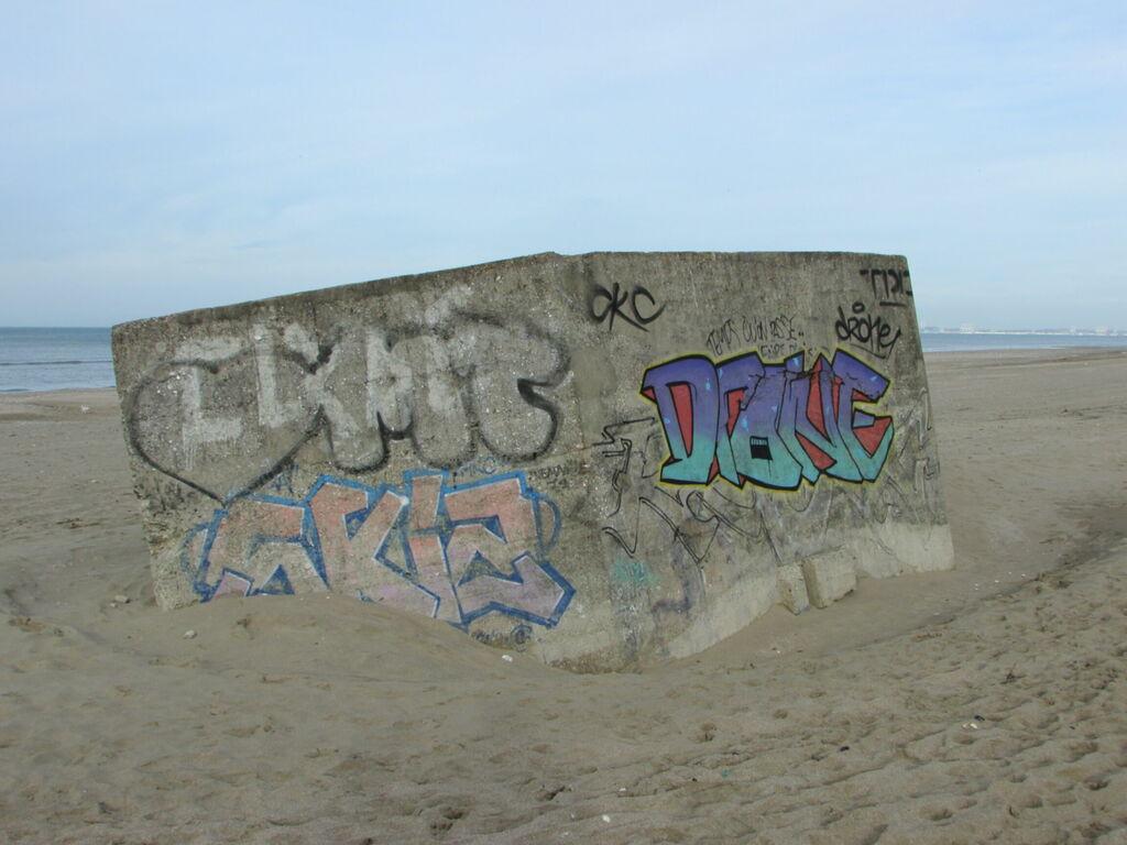 Reste du mur de l'Atlantique ?