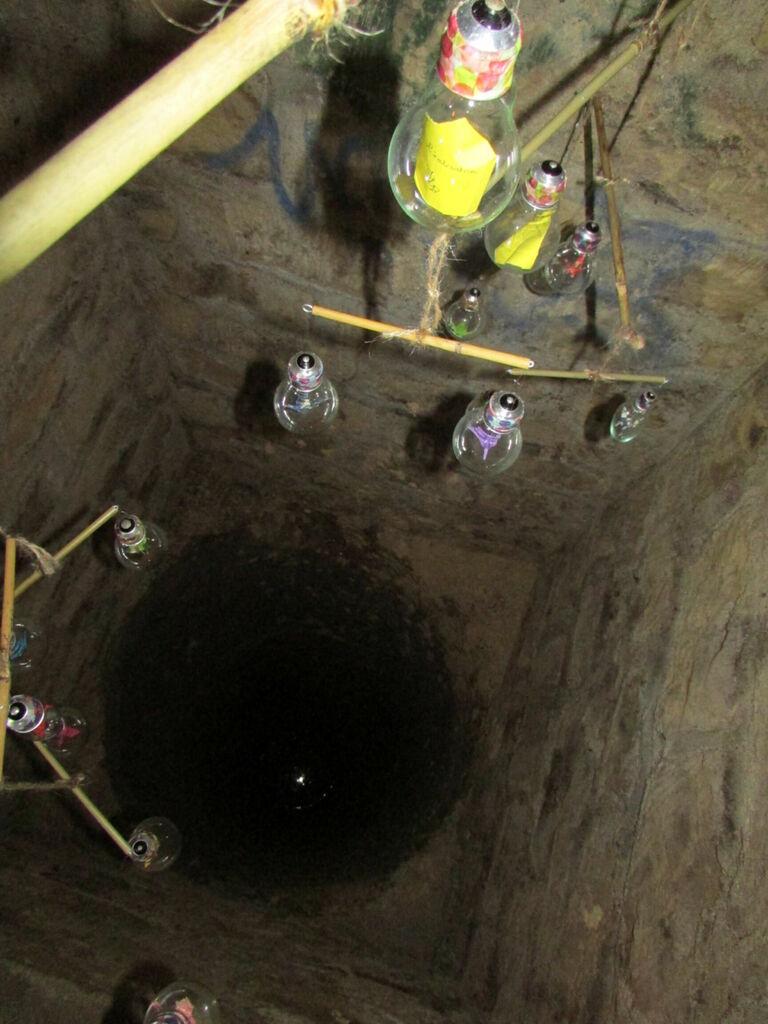 Mobile et puits