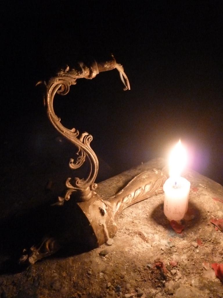 Bougie et chandelier