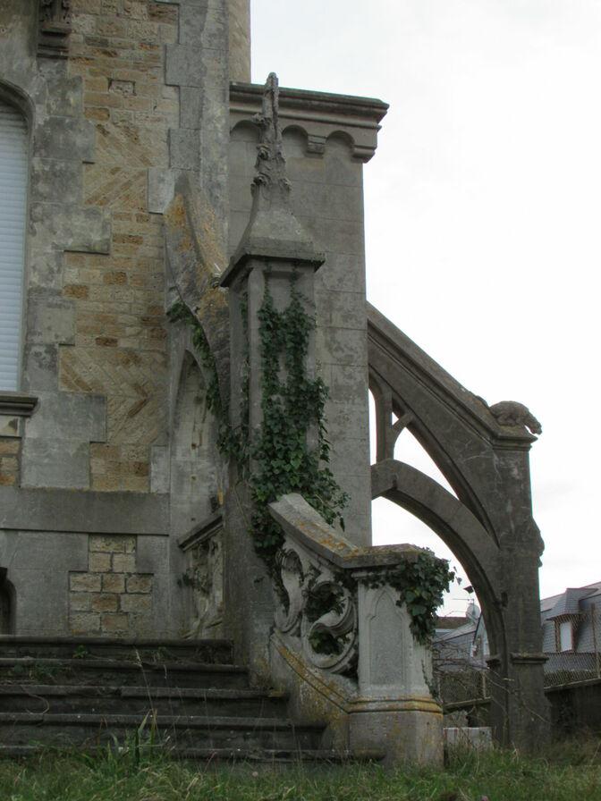 Détail du chateau
