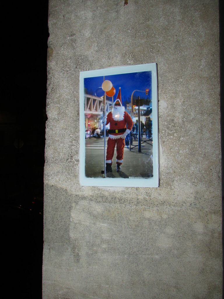 #Backtothestreet au Père Noël