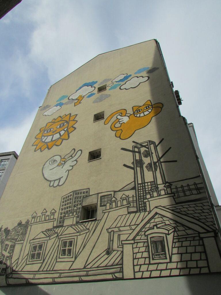 Mural de M. Chat
