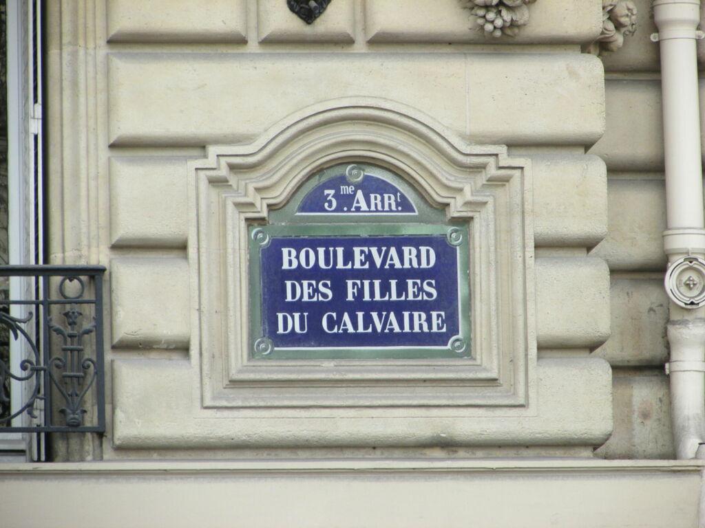 Boulevard des Filles du Calvaire