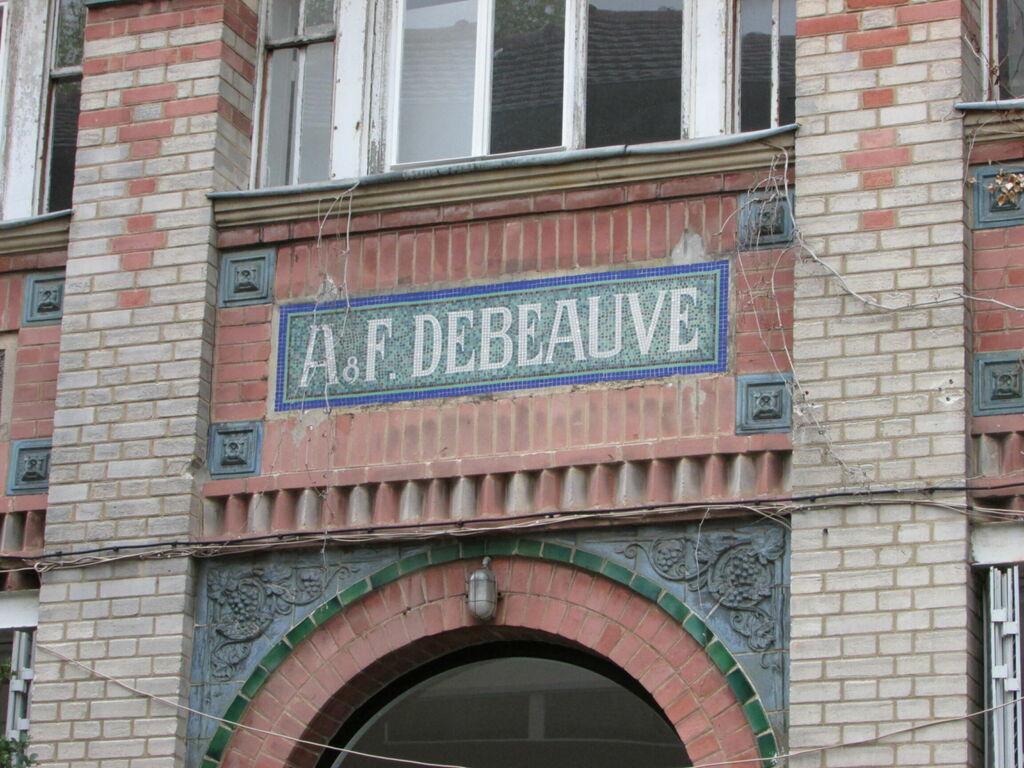 AF Debeauve (oui c'est en plein Ve)